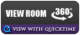 View Room in 360 degrees! View with Quicktime.
