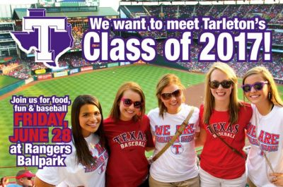 Tarleton Night at Texas Rangers