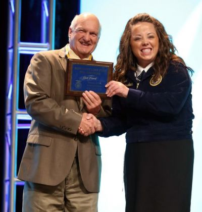 Ted Ford Lone Star FFA Degree