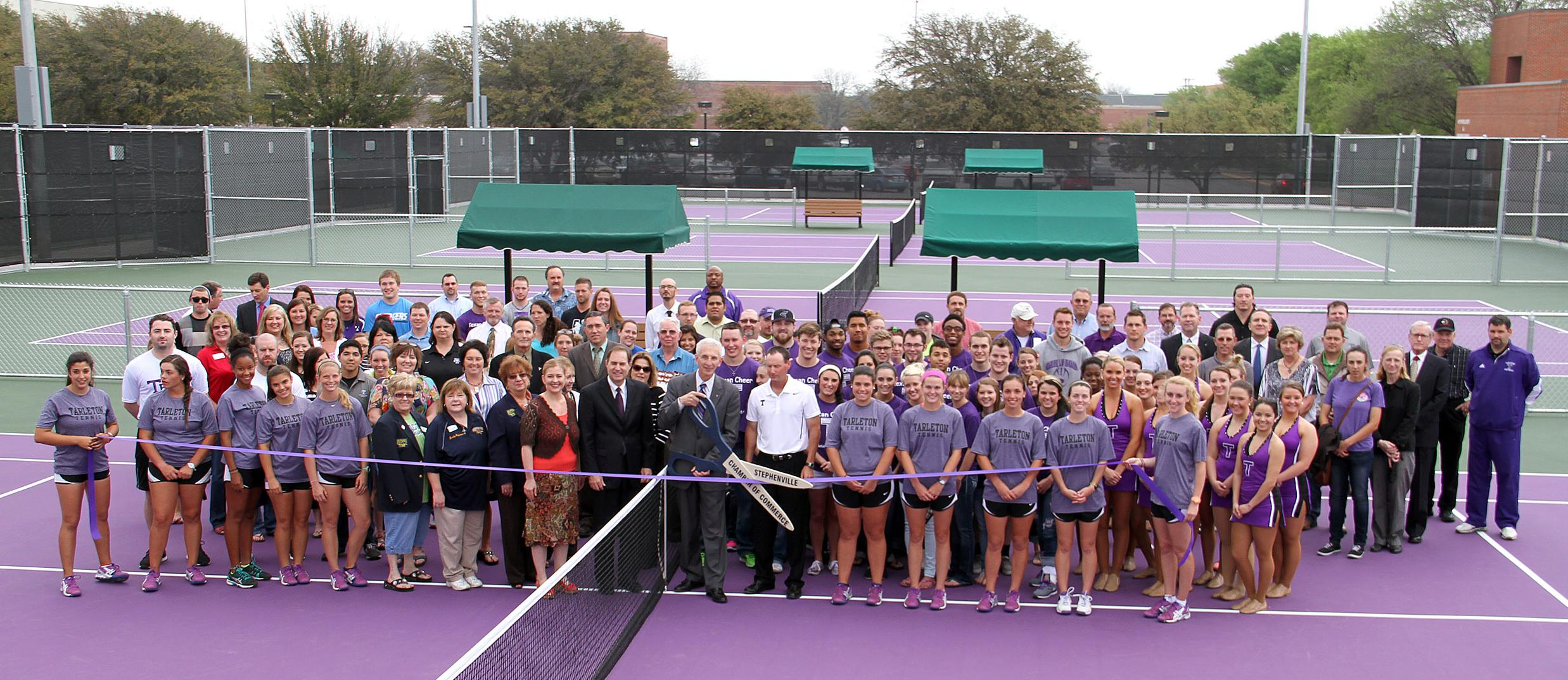 Tennis Court Renovations Complete