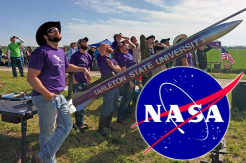 Aeronautical team NASA