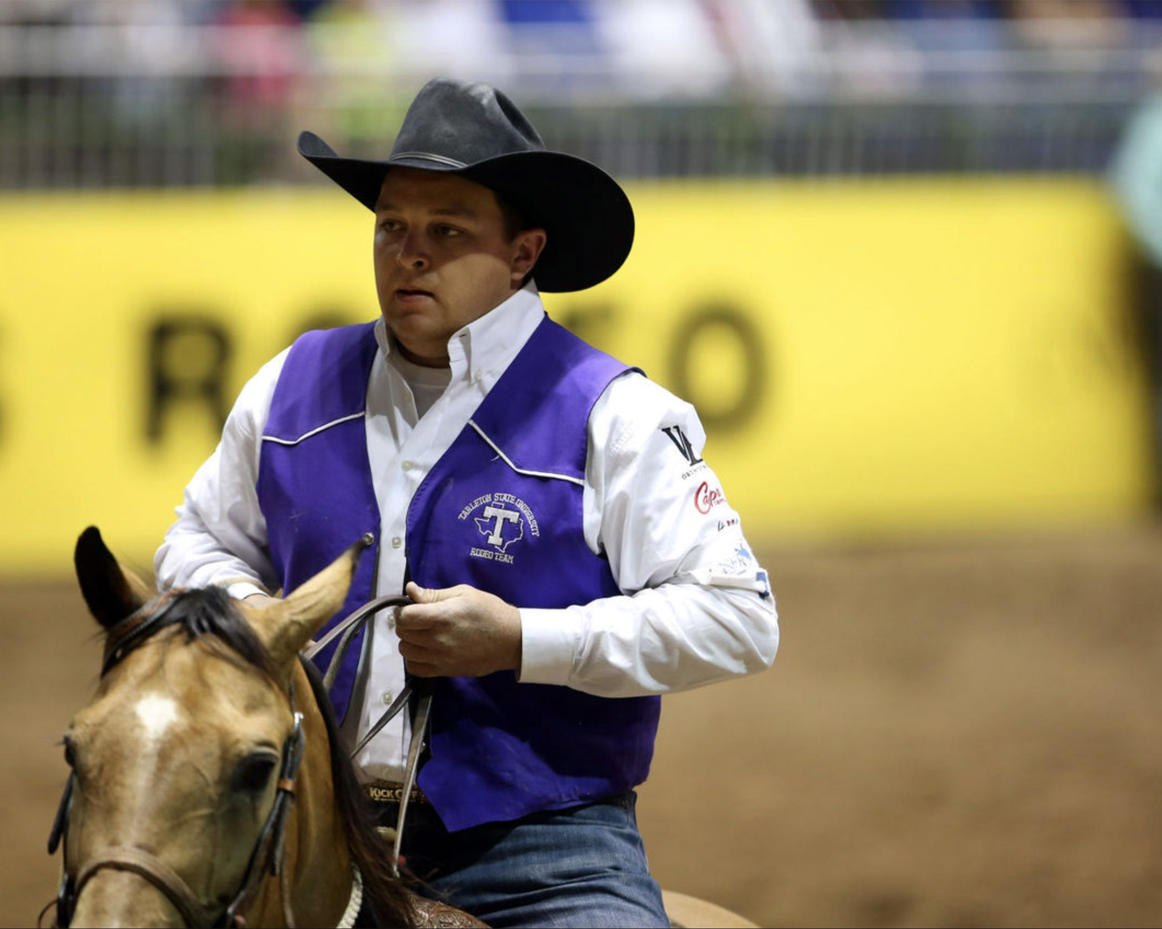 Tarleton Tie-Down Roper in First Place