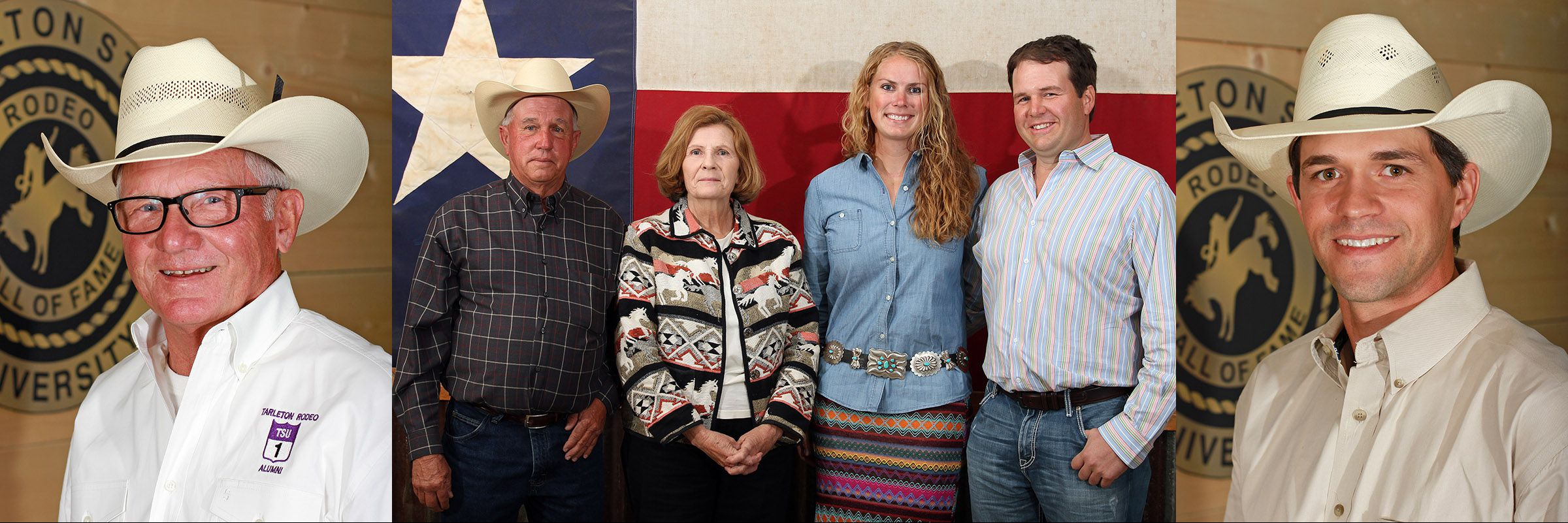 2017 Tarleton Rodeo Hall of Fame Inductees