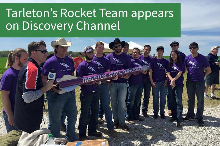Aeronautics team on Discovery Channel
